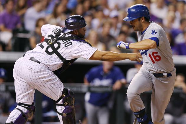 Grienke, Uribe Lead Dodgers Past Rockies 3-2