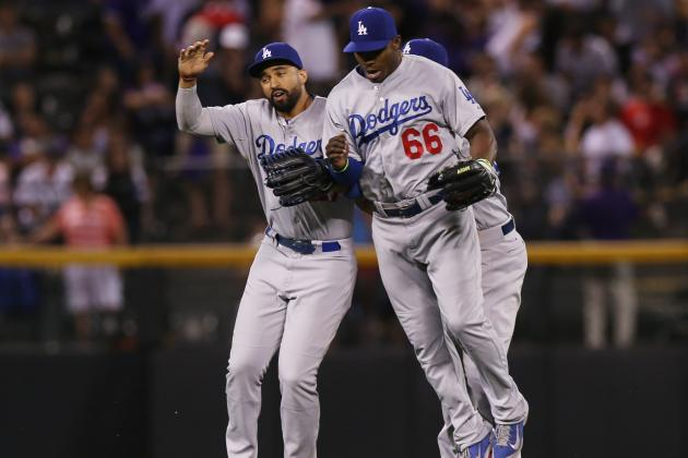 Dodgers Win to Move Back into 1st in NL West