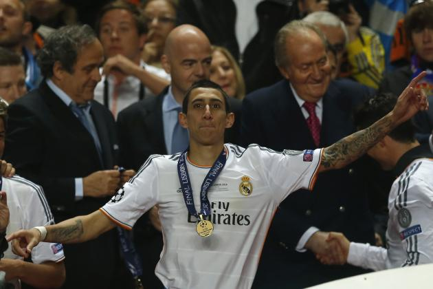Manchester United Transfer News: Angel Di Maria Offered to Louis Van Gaal