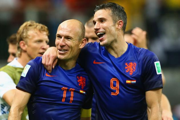 Netherlands vs. Costa Rica: Date, Time, Live Stream and 2014 World Cup Preview