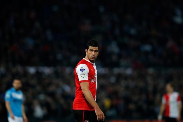 Feyenoord's Graziano Pelle Skips Charity Gala Amid Southampton Transfer Talk