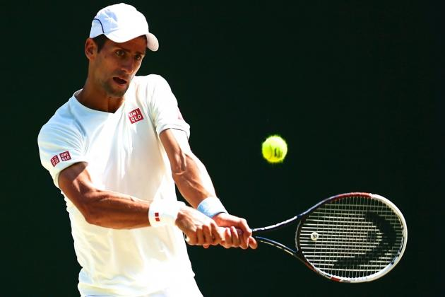 Djokovic vs. Dimitrov: Score and Highlights from Wimbledon 2014 Men's Semifinals