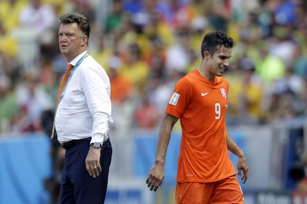Why Louis Van Gaal Can't Rely Solely on Robben and Van Persie Against Costa Rica
