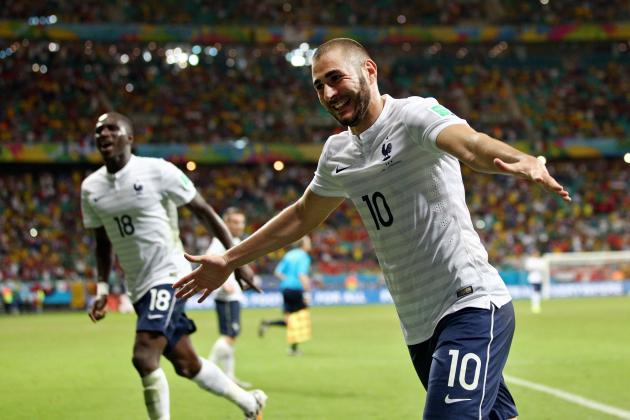 France vs. Germany: Live Player Ratings