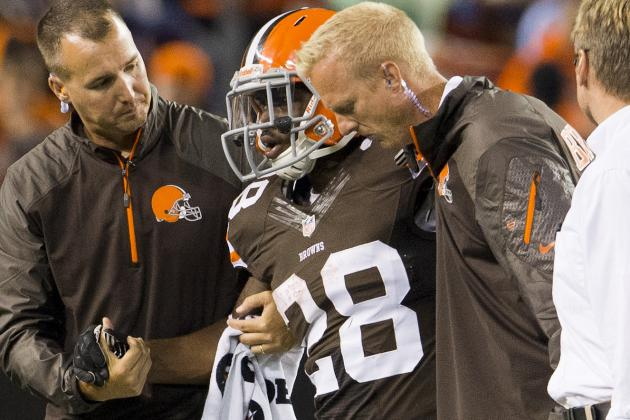 Dion Lewis Healthy, Determined to Move Back into Browns Backfield Mix