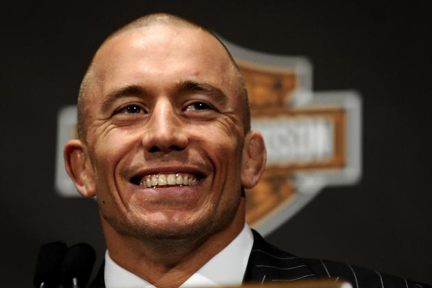 Former UFC Champion Matt Hughes Says Georges St-Pierre Should Retire
