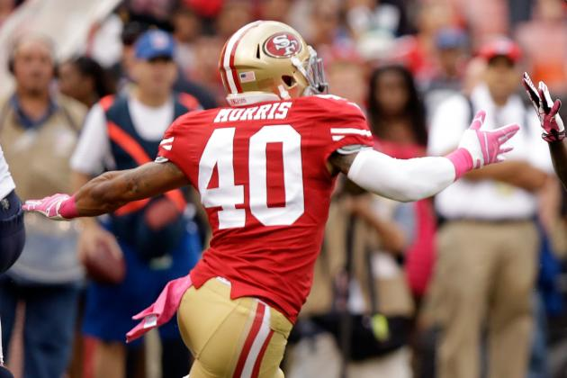 Speedy, Determined Morris Hoping to Win 49ers Job