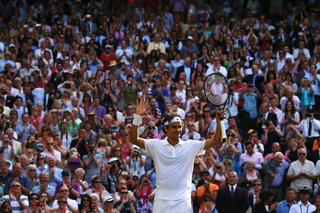 Federer vs. Raonic: Score and Highlights from Wimbledon 2014 Men's Semifinals