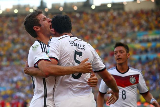 France vs. Germany: World Cup Quarter-Final Score, Grades and Reaction