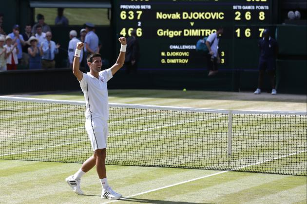 Wimbledon 2014: Day 11 Results, Highlights, Scores Recap from All England Club