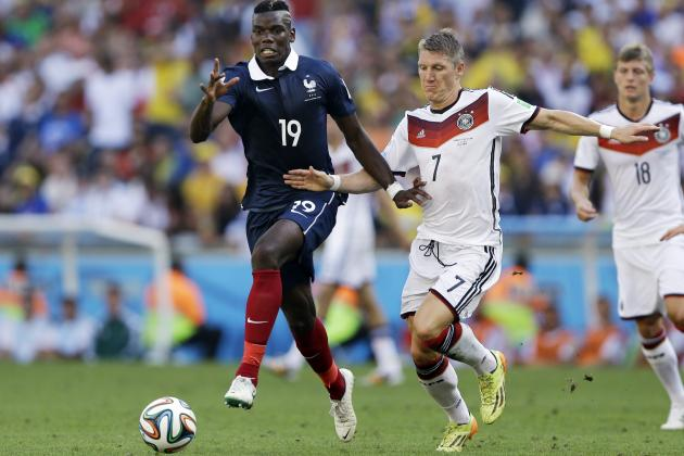 World Cup 2014 Scores: Tracking Quarter-Final Results for Day 23