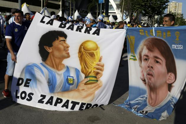 Lionel Messi Can Match Maradona Legend with Match-Winning Display vs. Belgium