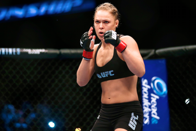 Ronda Rousey, UFC's Biggest Star, Prepared for UFC 175 Challenge from Davis