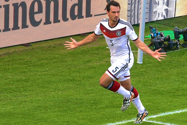 France vs. Germany: Live Score, Highlights for World Cup 2014 Quarterfinals