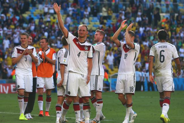 France Fail to Fire on the Big Stage as Germany Reach 'Home' Once Again
