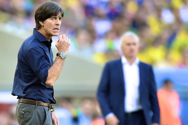France vs. Germany: Low Fixes Germany's Defensive Line to Stifle Les Bleus