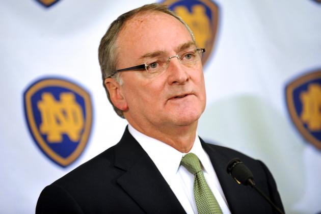 Notre Dame Football: Irish Can Celebrate Independence Thanks to Jack Swarbrick