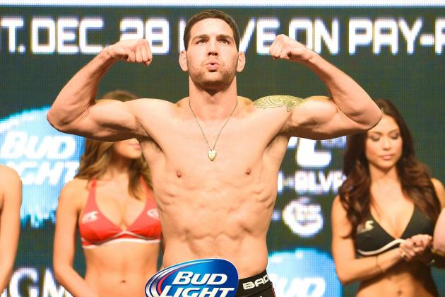 UFC 175 Weigh-in Results: Chris Weidman vs. Lyoto Machida Fight Card