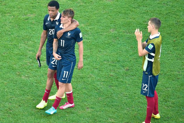 France Undone by Inferior Collective Experience in Germany World Cup Defeat