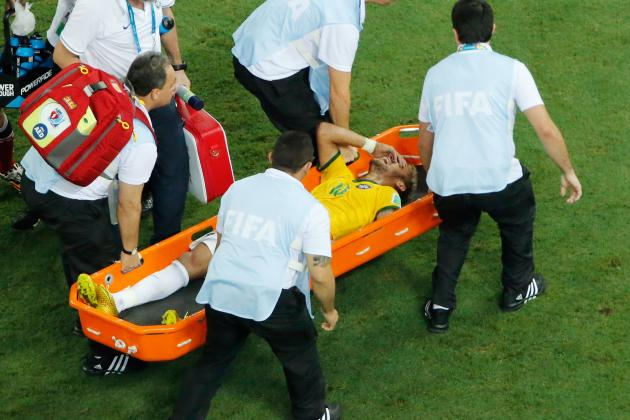 Neymar's Back Injury Costs Him Shot at World Cup Glory and Possibly More