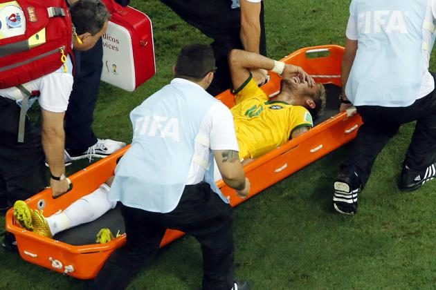 Neymar the Casualty as Weak Refereeing Mars Brazil's Brutal Win over Colombia
