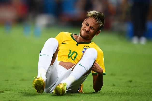 Neymar Injury Debilitating to Brazil's World Cup Chances