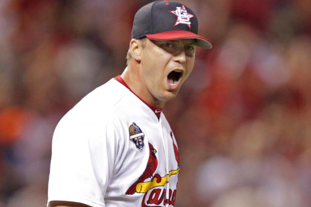 Rosenthal Barely Hangs on as Cardinals Escape with 3-2 Win