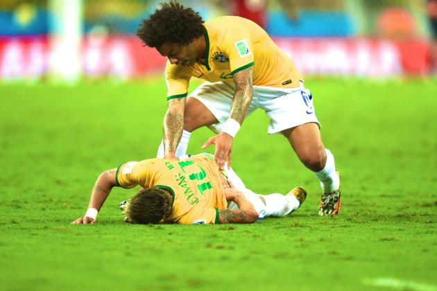 Neymar Injury Debilitating to Brazil's World Cup Chances