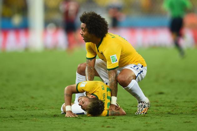 How Brazil Will Adapt to Neymar Injury Absence in World Cup Semi vs. Germany