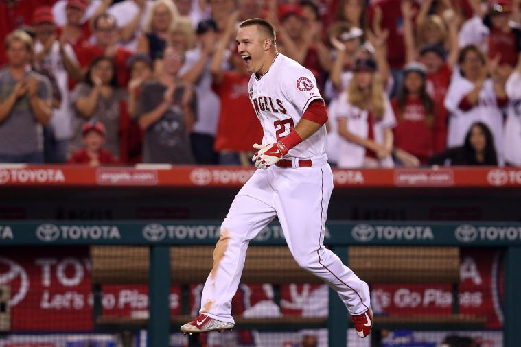 Angels' Mike Trout Crushes Walk-off Home Run vs. Astros