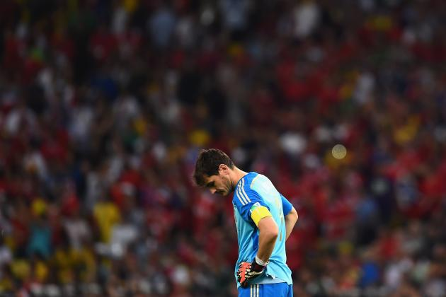 The Future Looks Bleak for Iker Casillas After a Disastrous World Cup