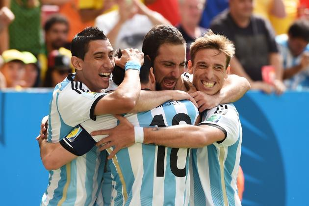 Argentina vs. Belgium: Live Score, Highlights for World Cup 2014 Quarterfinals