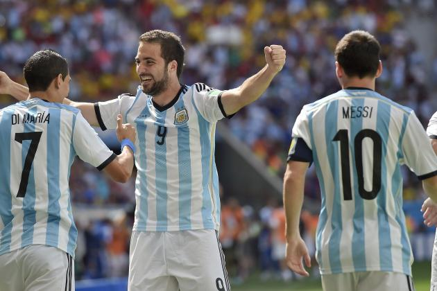 Twitter Reacts to Lionel Messi, Gonzalo Higuain's Performance vs. Belgium
