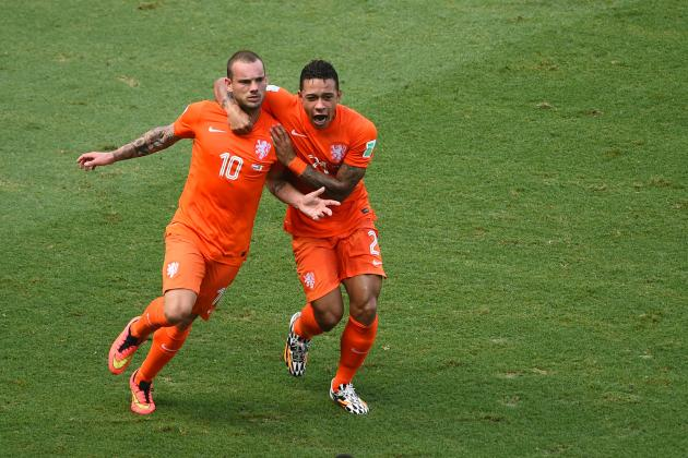 Netherlands vs. Costa Rica: Live Player Ratings