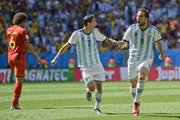 World Cup 2014 Scores: Tracking Quarterfinal Results for Day 24