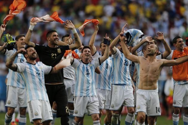 No-Frills Argentina Take Another Giant Step Towards World Cup Glory