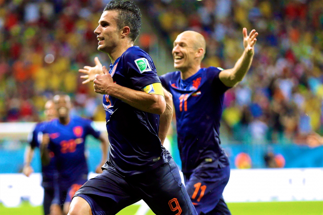 Why Louis Van Gaal Can't Rely Solely on Robben and Van Persie Against Costa Rica