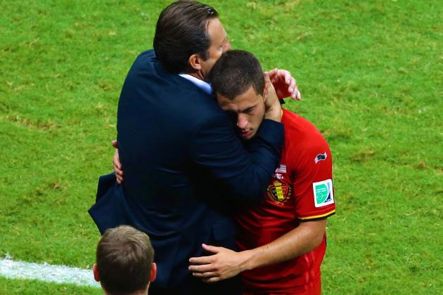 Eden Hazard Needs to Find His Chelsea Fire If Belgium Are to Fulfill Potential