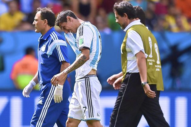 Angel Di Maria Injury: Updates on Argentina Star's Thigh and Return