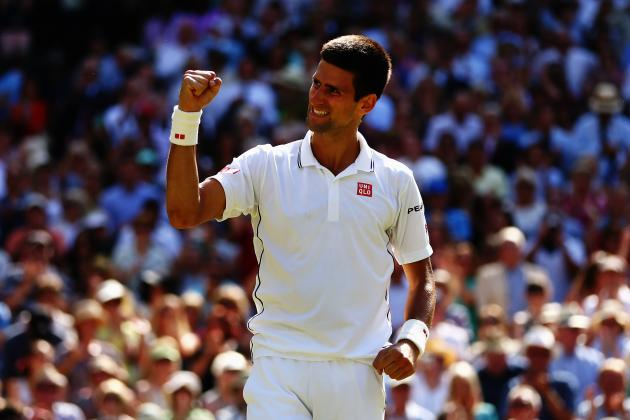 Novak Djokovic's Resilience at 2014 Wimbledon Will Pay off in Final vs. Federer