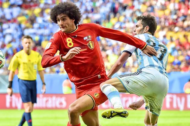 Argentina vs. Belgium: Red Devils Fail to Punish Midfield Mismatch