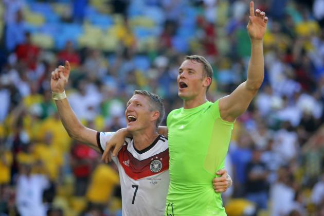 Germany Becomes 1st Team to Reach 4 Straight World Cup Semifinals