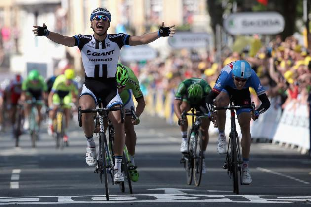 Tour de France 2014: TV Info, Live Stream and Viewing Guide for Stage 2