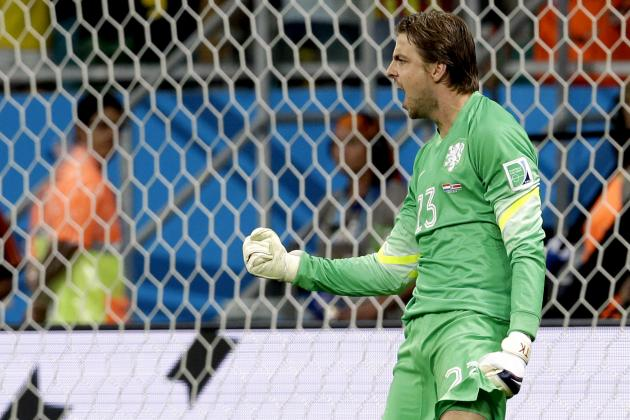 Twitter Reacts as Dutch Substitute GK Tim Krul Ends Costa Rica's World Cup Run