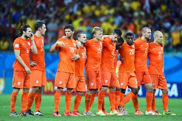 Netherlands vs. Costa Rica: Live Score, Highlights for World Cup 2014