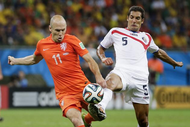 Twitter Reacts to Arjen Robben, Robin Van Persie's Performances vs. Costa Rica