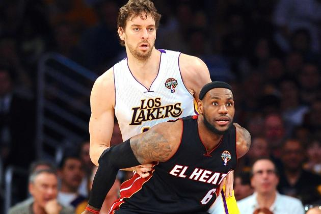 Would Pau Gasol Be Enough to Keep LeBron James with Miami Heat?