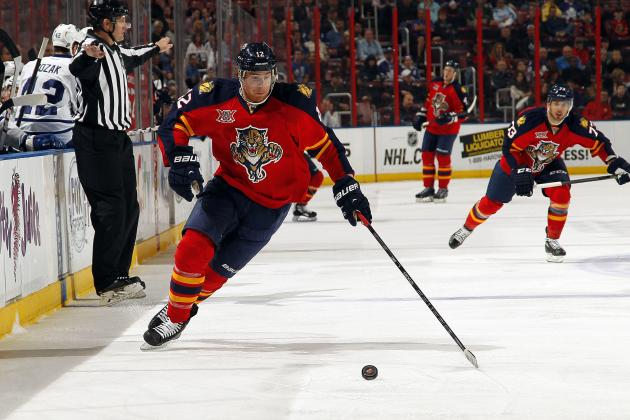 Florida Panthers Forward Jimmy Hayes Opts for Salary Arbitration