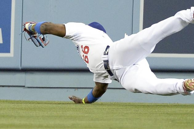 Video: Puig's over-the-Shoulder Diving Catch
