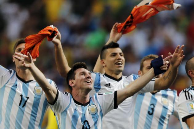 World Cup 2014 Semifinals: Complete Schedule, Updated Bracket and Predictions